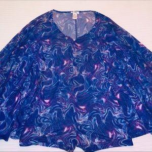 Purple rave jumpsuit